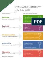 Leibtag Content Checklist