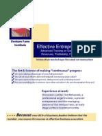 May Effective Entrepreneurship