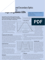 Designing With Lenses and Secondary Optics