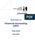 ACCA F3 Notes