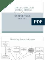Mktg Research Design