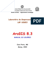 Manual Do ArcGIS PDF