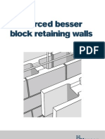How to Build a Reinforced Besser Block Retaining Wall