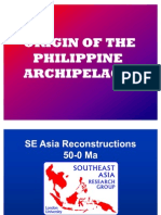 Origin of Philippine Archipelago
