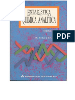 a Para Quimica Analitica (J.C. Miller and J.N. Miller)