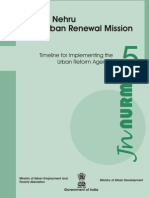 JNNURM Toolkit-5 Time Plan for Implementing Urban Reform Agenda
