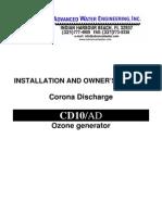 Ozono Manual Equipo