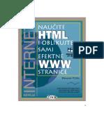 Dragan Petric - Naucite HTML i Oblikujte Sami Efektne WWW Stranice