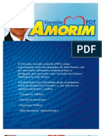Informativo do vereador Geraldo Amorim