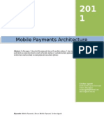 Mobile Payment Architecture