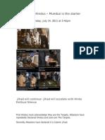 Mumbai Terror Attack and The Jihad on Hindus by Aron