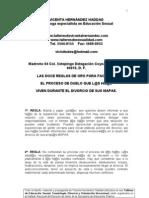 Microsoft Word - Divorcio. Las Doce Reglas de Oro Del