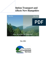 Air Pollution Transport and How It Affects New Hampshire