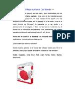 Tutorial Español - Avira Antivir 8