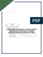 Manual de Fabricacion Postes