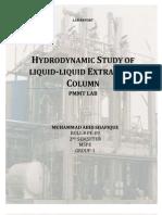Liquid Liquid Extractio2n