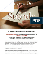10 Things to Do Before You Commit Suicide