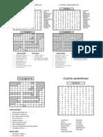 Pupiletras y Crucigrama Sistema Respiratorio