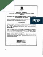 Resolucion de Desierta 0046 del 14 de Febrero de 2011 SPO-03-2011