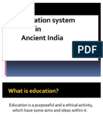 Ancient Education System