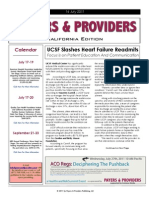 Payers & Providers California Edition – Issue of July 14, 2011