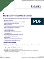 SQL_Loader Control File Ref