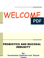 Probiotics and Mucosal Immunity