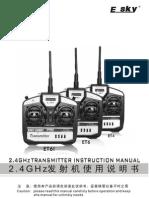 Esky ET6I Transmitter Manual