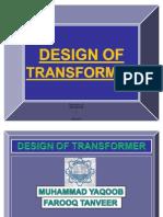 Design of Transformer