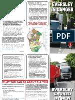 Eversley Road Safety Leaflet - July 2011