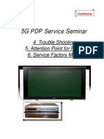 Pioneer 5g Pdp Plasma Tv Training Manual [ET]