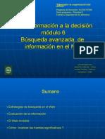 Búsqueda Avanzada de Información en Internet