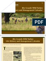 Turkey Management Calendar