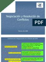 Negociaci%F3n y Resoluci%F3n de ConflictosTALLERMATRIZ