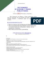Diccionario de Slogans