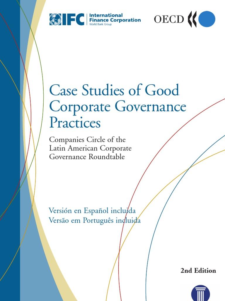 Case studies of good corporate governance fandeluxe Images