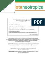 2010 Spavorek a Falsa Dicotomia - Biota Neotropica FAPESP