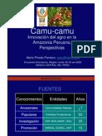 Estudio Del Camu Camu 2009