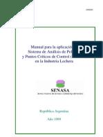 manual para la aplicación de haccp en la industria lechera