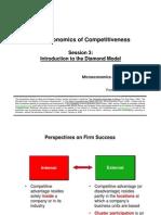 Diamond Model Advanced Economies