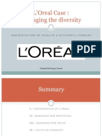 Loreal Case Study Managing the Diversity Describing the Ob Tools of a Successful Company 120304085031332 2