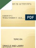 Hr Forum Activity