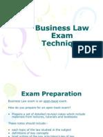 Business Law Exam Technique