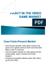 Piracy in the Video Game Market
