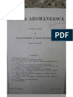 Revista Aromaneasca 1929 (N.1)