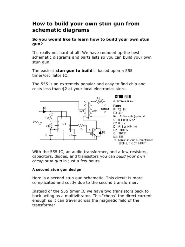 Taser S Schematic Diagram. . Wiring Diagram on