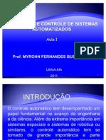 Modelagem e Controle de Sistemas Automatizados