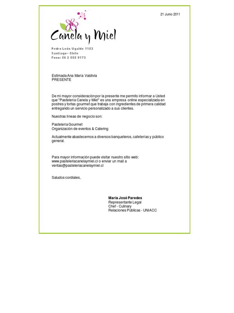 cartas de presentacion de empresas - Gidiye.redformapolitica.co