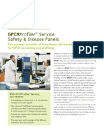 GPCRProfiler™ Service Safety & Disease Panels
