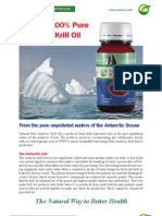 Pure Antarctic Krill Oil for maximum Omega 3